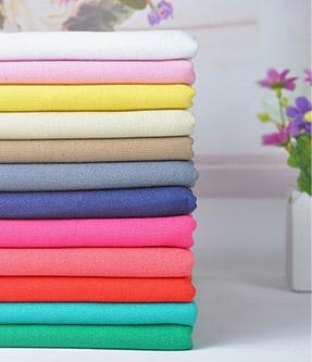 纯棉t恤纯色单面汗布针织面料